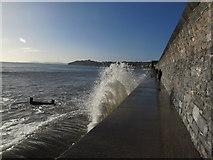 SX9777 : Waves Breaking on SW Coast Path by Matthew Chadwick