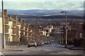 NO0823 : North on Newhouse Road, Letham, Perth, April 1979 by Robin Stott