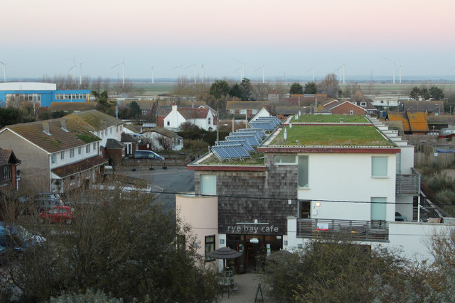 Green roofs at Lydd Road