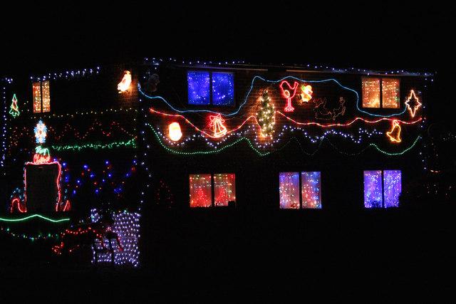 Westfield Christmas lights