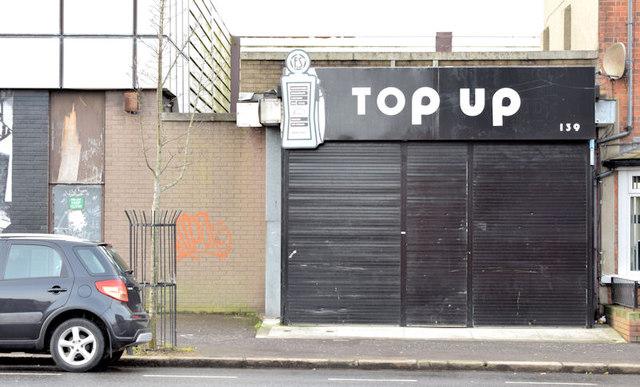 """Top Up"", Belfast (January 2015)"