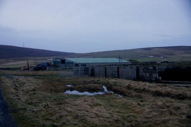 Agricultural building near Tresta, Fetlar
