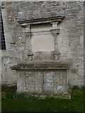 SY6085 : Gravestone of William Weare, St Peter's Church, Portesham by Becky Williamson