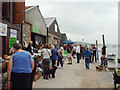 SX9372 : Teignmouth Riverbeach and Harbour Festival 2014, New Quay, Teignmouth by Robin Stott