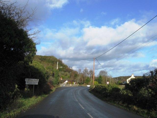 Entrance to Kerrow Moor
