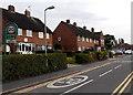 SJ5128 : Home Zone, The Grove, Wem by Jaggery