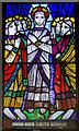 TQ7909 : Stained glass window, St John's church, St Leonards by Julian P Guffogg