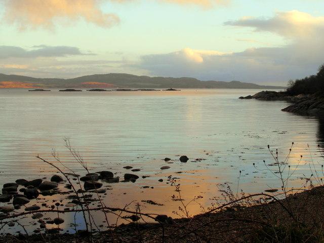 Loch Fyne shore near Creagan Mor