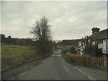 TQ3557 : Bug Hill by Woldingham Golf Club by David Howard