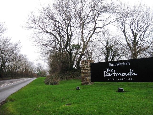 Entrance to The Dartmouth