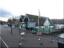 SD4096 : Lake cruise ticket office, Bowness by Graham Robson