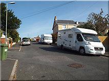 SX9473 : Northwest leg of Livingstone Road near Paradise Road, Teignmouth by Robin Stott