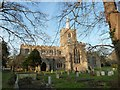 SP9416 : Church of St Mary, Ivinghoe from churchyard by Rob Farrow