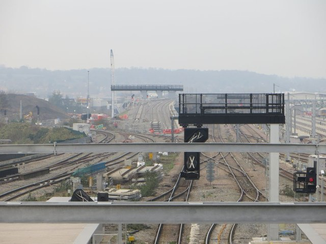 Two of the gantries