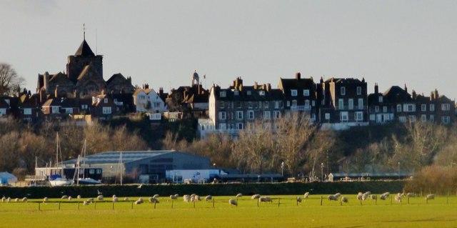 Rye from East Guldeford