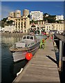 SX9163 : Military Boats, Torquay by Derek Harper