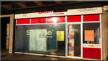 SP3378 : Shopfront detail, 7 Station Square, Coventry by John Brightley