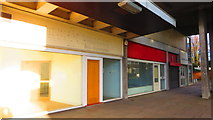 SP3378 : Empty shops, Station Square, Coventry by John Brightley