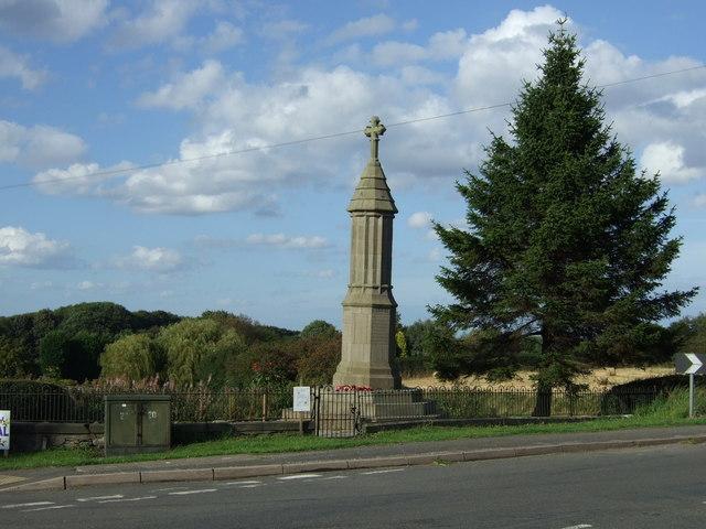 War Memorial, Marsh Lane