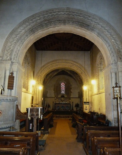 Stewkley - St Michael - Norman arches