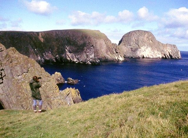 Cliffs at Vaasetter and Sheep Rock
