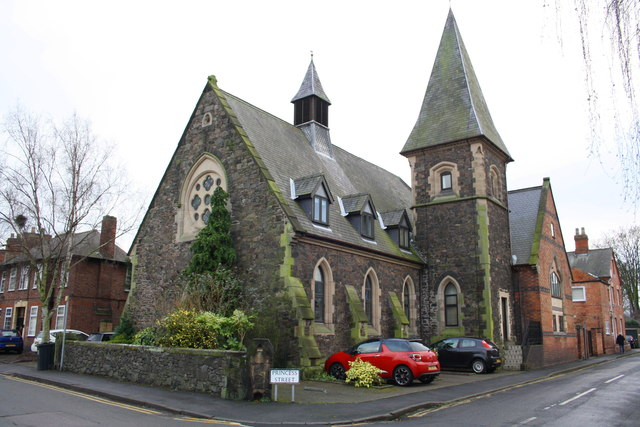 Former church at Princess Street / Victoria Street junction