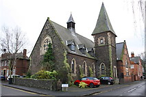SK5319 : Former church at Princess Street / Victoria Street junction by Roger Templeman