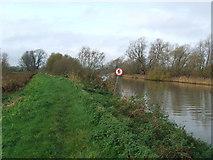 TM4492 : Footpath On Riverbank by Keith Evans
