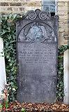 TQ2976 : St Paul, Clapham - Gravestone by John Salmon