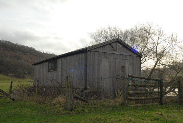 Shed by the River Wye