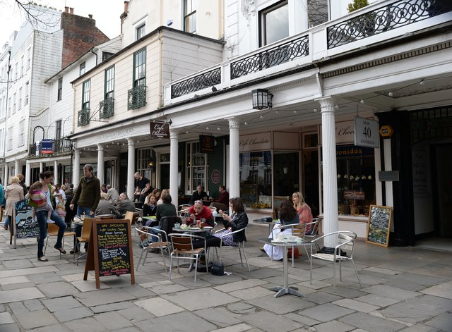 Tunbridge Wells: The Pantiles 1
