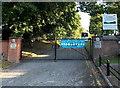 SK3903 : School and pre-school entrance gates, Market Bosworth  by Jaggery