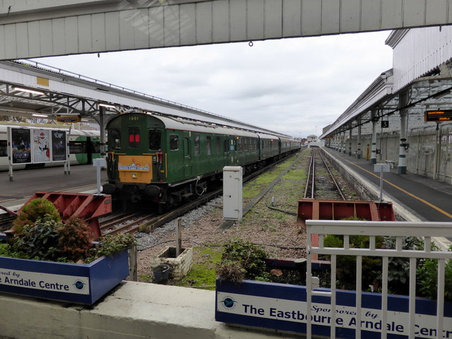 Sussex Coast Express at Eastbourne Railway Station