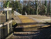 SU8262 : Railway footpath crossing by Alan Hunt