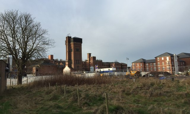 St George's Hospital, Stafford: old and new