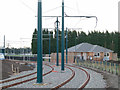 SK5337 : Tramway curve at University Boulevard by Alan Murray-Rust