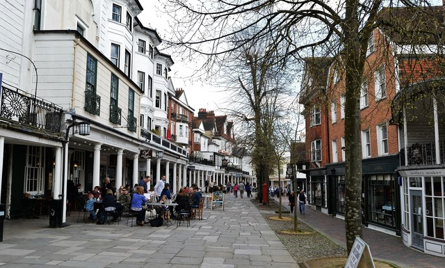Tunbridge Wells: The Pantiles 2
