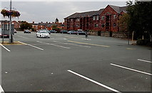 SJ2929 : Small part of a large car park in Oswestry by Jaggery