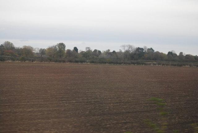 Farmland, Saxondale by N Chadwick