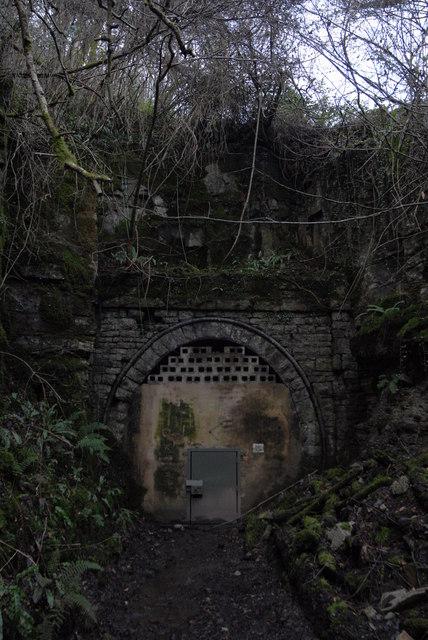 Symonds Yat tunnel - east portal