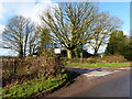 SO4904 : Road junction at Trelleck Cross by Ruth Sharville