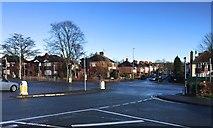 SJ8545 : Crossroads outside Royal Stoke University Hospital by Jonathan Hutchins
