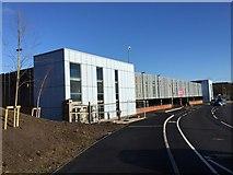 SJ8545 : Royal Stoke University Hospital: multistorey car park by Jonathan Hutchins