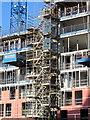 NZ2464 : Construction site, Pitt Street by Andrew Curtis