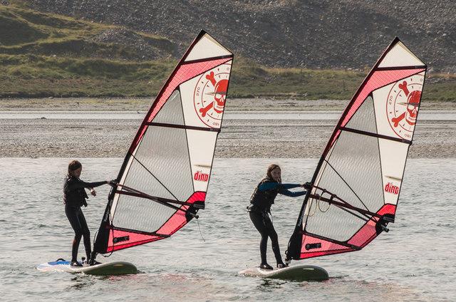 Windsurfing, Rusheen Bay