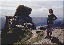 NN2505 : Summit of the Cobbler by Alan Reid