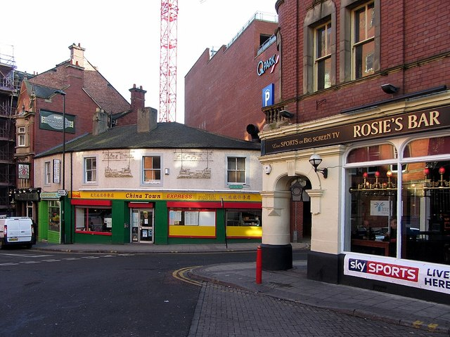 St Andrew's Street & Stowell Street, Newcastle upon Tyne