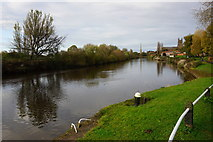 SO8453 : The River Severn at Worcester by Bill Boaden