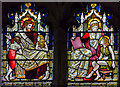 TQ5243 : Clerestory glass, St John's church, Penshurst by Julian P Guffogg