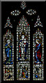 TQ5243 : Stained glass window, St John the Baptist church, Penshurst by Julian P Guffogg